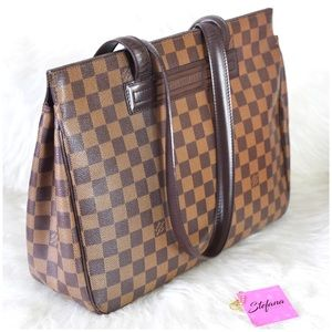 Louis Vuitton Parioli PM Damier Ebene Shoulder Bag